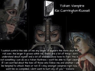 TOKEN VAMPIRE WARRIOR 3